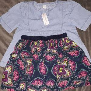 2 piece Gymboree outfit